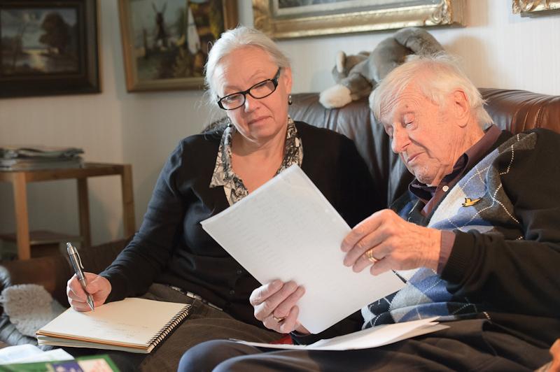 Författaren och Lennart